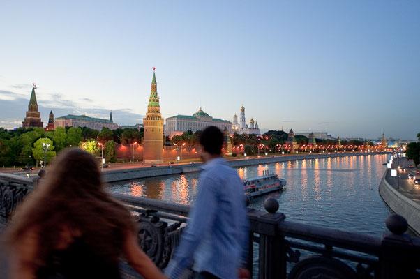 Moskwa und Kreml - © Dirk Brzoska
