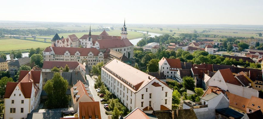 Schloß Hartenfels in Torgau - fotografiert für Torgau-Informations-Center - © Dirk Brzoska