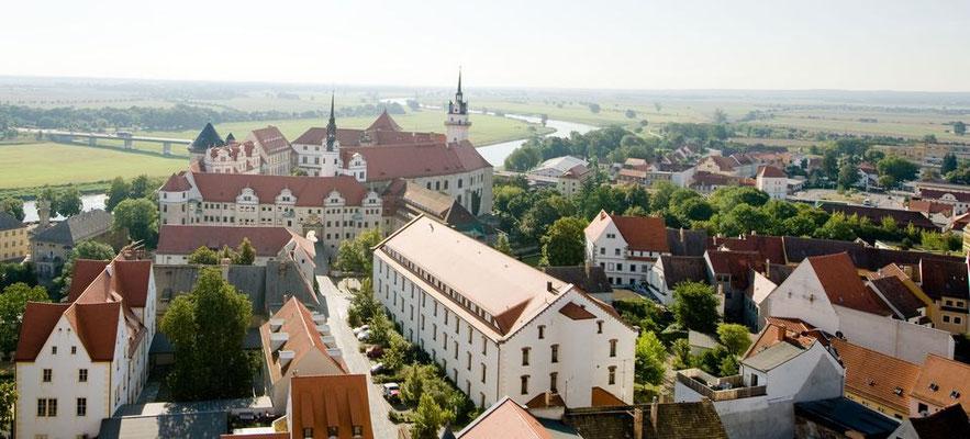 Schloß Hartenfels in Torgau - fotografiert für Torgau-Informations-Center - © Dirk Brzoska - Fotograf aus Leipzig