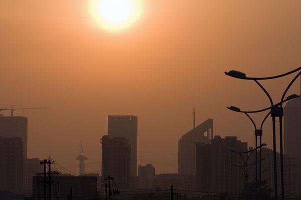 Abendsonne über Nanjing / China - Reportage für BILD - © Dirk Brzoska - Fotograf aus Leipzig