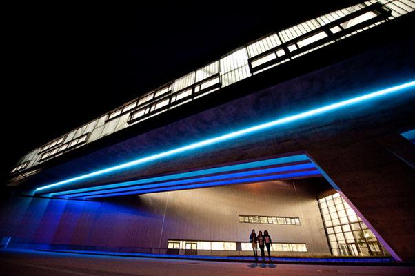 BMW Werk in Leipzig -nach Entwurf von Architektin Zaha Hadid - © Dirk Brzoska