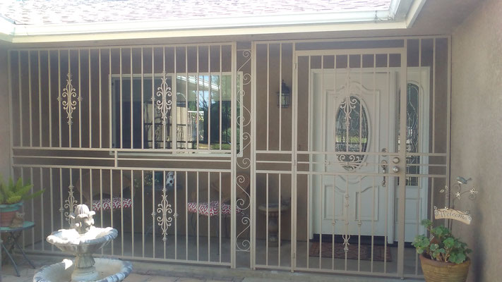 Porch Enclosures Condoor Security Wrought Iron Works