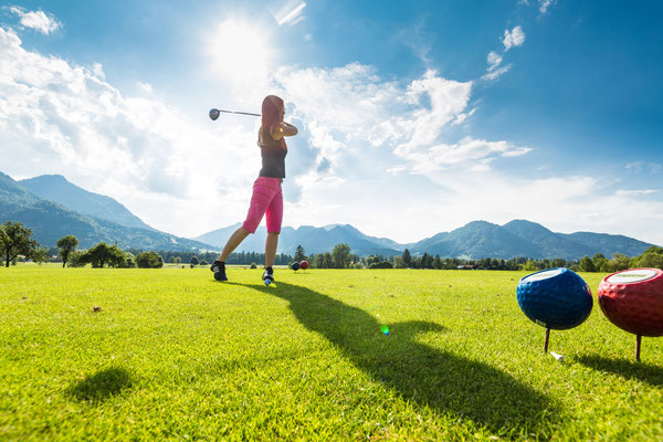 Golfen in Ruhpolding