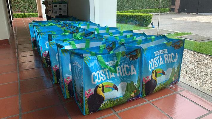 Swiss Tropical und Familie Dähler Spenden in costa rica
