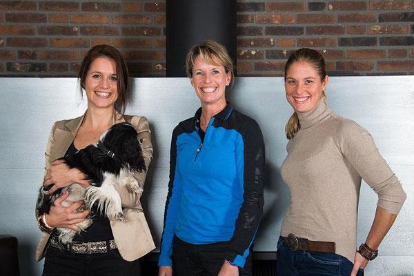 Met Anky van Grunsven en Adelince Cornelissen