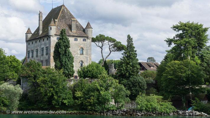 Chateau d'Yvoire (Genfer See, Department Haute-Savoie, Frankreich)