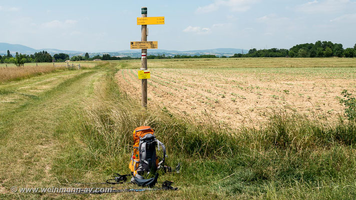 Noch 13 km bis Chavanay