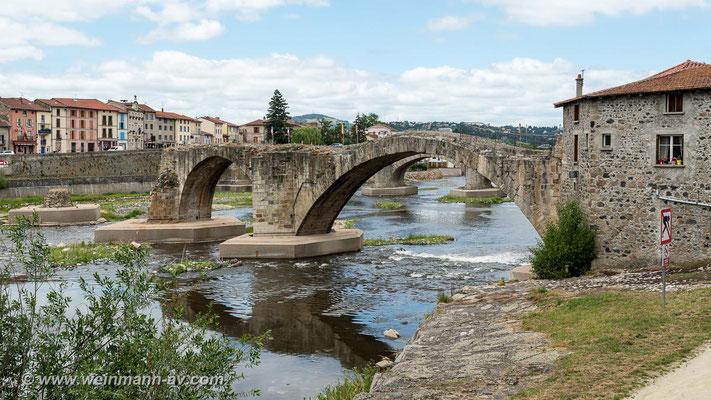 Römerbrücke in Brives-Charensac
