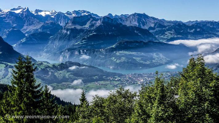 Vierwaldstättersee (Kanton Schwyz, Schweiz)
