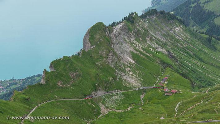 Bergfahrt (Brienzer Rothorn, Kanton Bern, Schweiz)