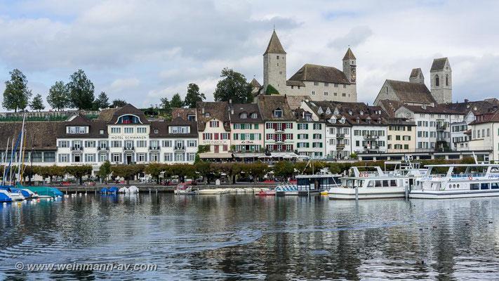 Rapperswil (Zürichsee, Kanton St. Gallen, Schweiz)