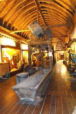 Salle du grain au au pain, Musée des Métiers