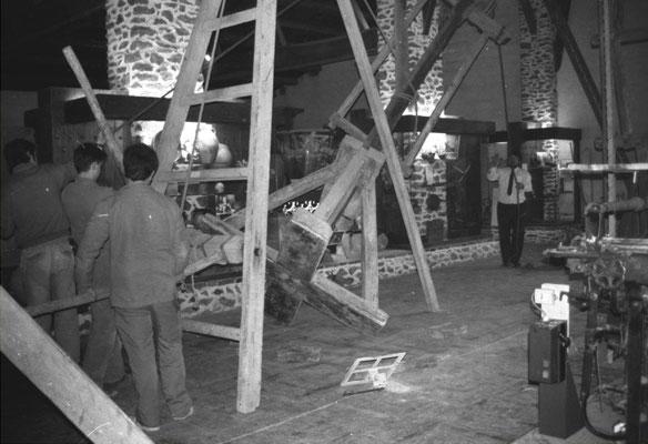 La salle des engins de levage, Musée des Métiers