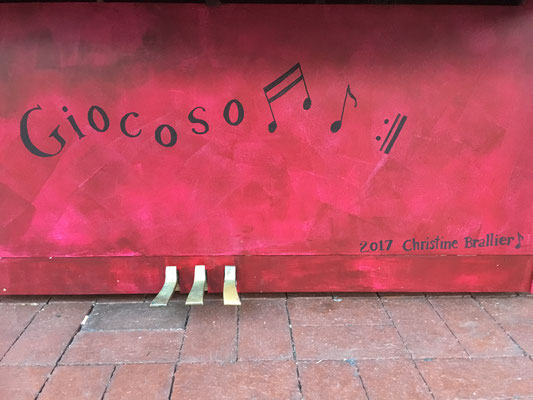 Giocoso is the title of my piano and it means fun and joyful. At the end of Giocoso is a symbol telling you to go back to the beginning and repeat over and over again, so basically have a fun and joyful life.