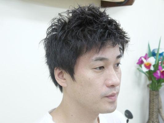 浜 ちゃん 髪型
