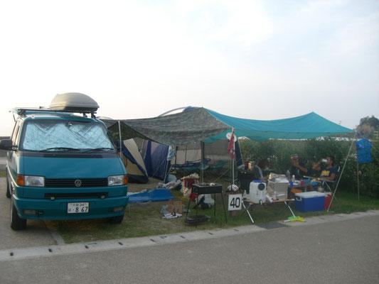 丹後半島 平の浜キャンプ