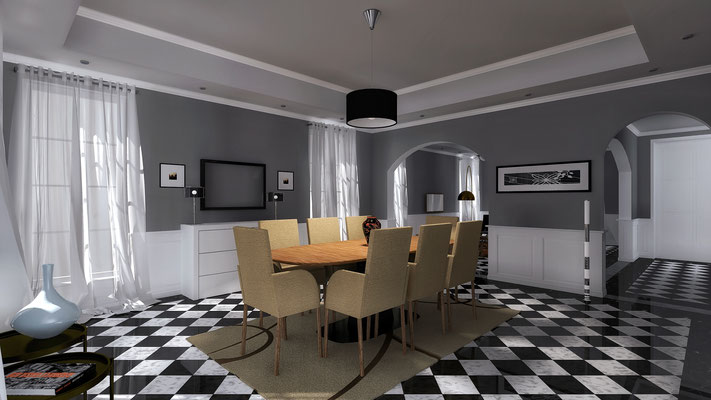 Dining Room - © A. Pea