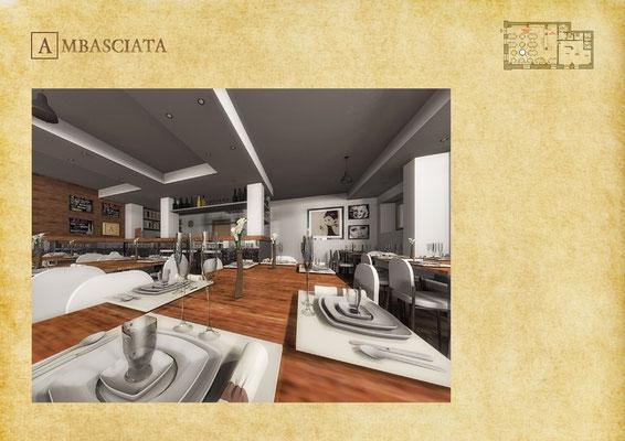 Servizio Restaurant Ambasciata - © R. Aleotti, A. Pea, T. Tamborriello