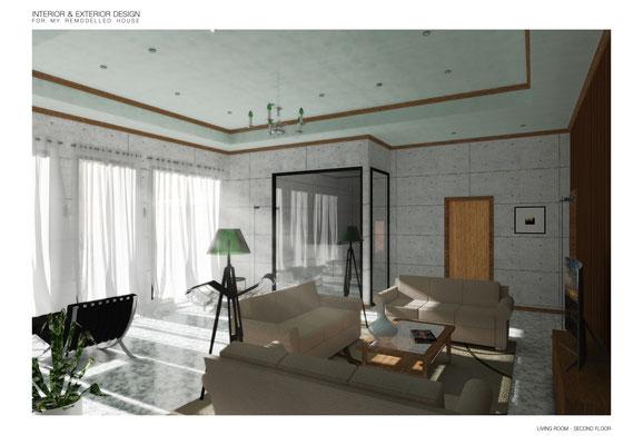 Living Room - © A. Pea