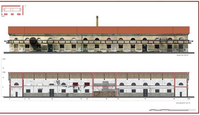 Rilievo architettonico - Fotopiano - © A. Pea, R. Porreca, L. Sepe