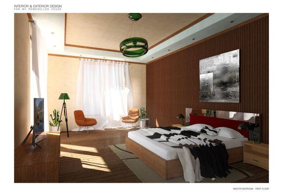 Master Bedroom - © A. Pea