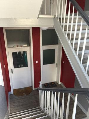 Treppenhaussanierung inkl. Designböden