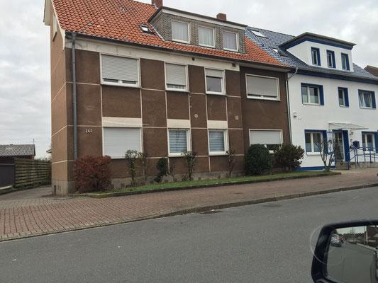 Fassade Hamm-Herringen (VORHER)