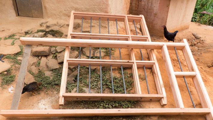 Die Fenster der Maismühle