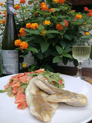Köhler an Salat