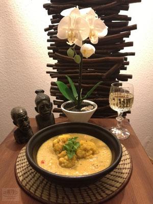 Blumenkohlsuppe (afrikanisch)
