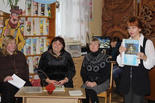 Арганізатары сустрэчы: Валянціна Абрамава, Людміла Ардынская, Надзея Вайцюль, Людміла Казіцкая (злева-направа)
