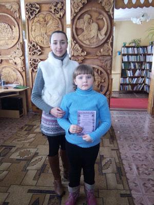 "Пераможца конкурсу ""Птички-симпатички"" сярод дзяўчынак"