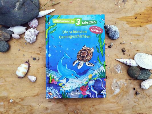 """Cover-Illustration für den Sammelband """"Die schönsten Ozeangeschichten"""""""