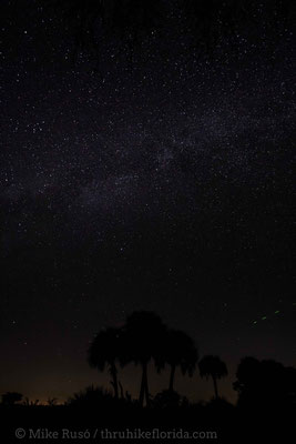 Kissimmee Prairie has the darkest night skies of anywhere in Florida