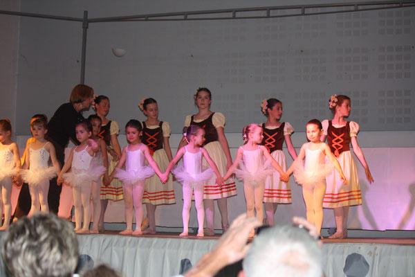 équipe de danseuses