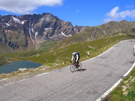 Mit dem Rennrad in den Alpen