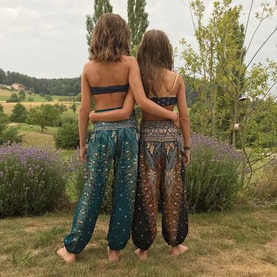 Yoga Hosen, Haremshosen Mädchen