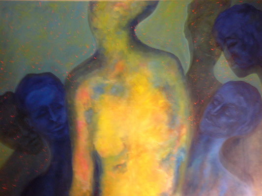 Les Pathologiste, oil canvas 160 x 200 cm