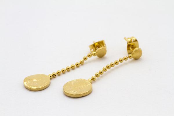 Boucles • plaqué or