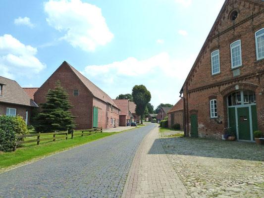 Alte Bauernhäuser in Meyenburg