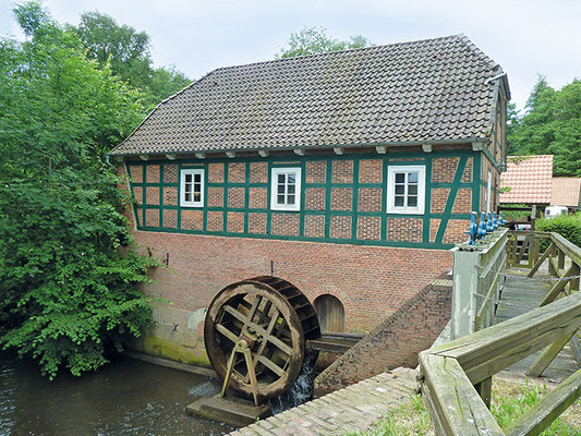 Wassermühle in Meyenburg