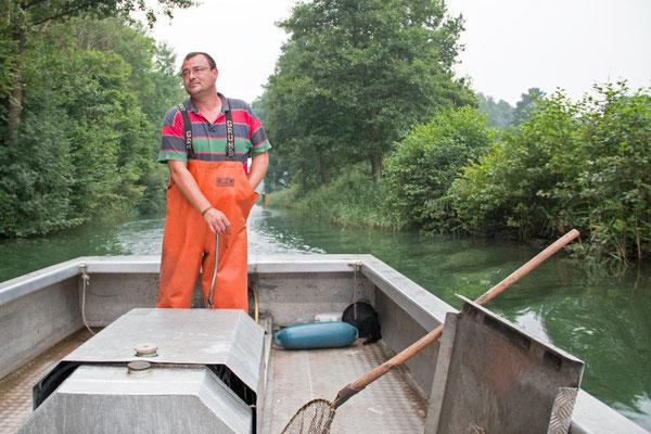 Durch den Zechliner Kanal zum Grossen Zechliner See