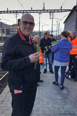 Am föfzähte März 19 schloot au am Silvan sis letschte Schtöndli bi de Bahn.