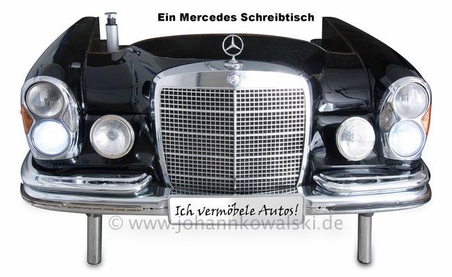 Automöbel - Mercedes Schreibtisch