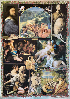 L'Âge d'Or (2021), Collage, ca. 42x59,5cm