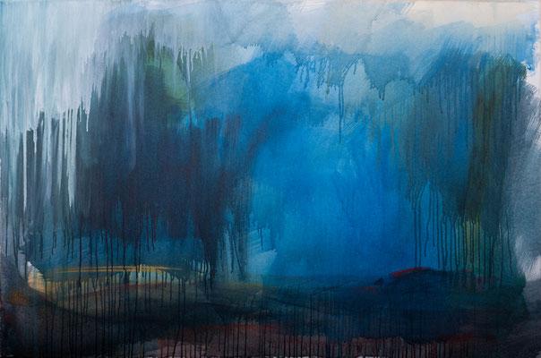 Unwetter (2005), Acryl auf Leinwand, 140x100cm