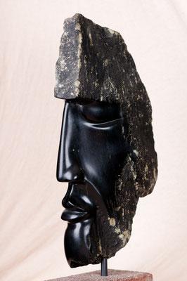 Wächter (2008), Steatit, ca.45cm