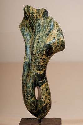 Pflanze (2006), Steatit, ca.42cm