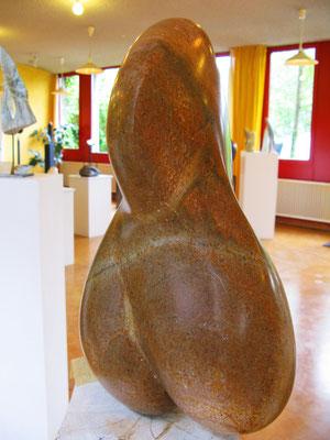 Androgyn (2006), Steatit, ca. 60cm