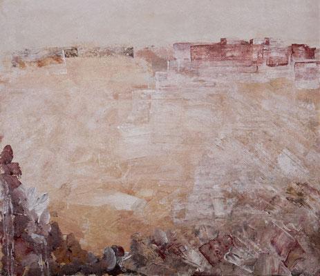 Fata Morgana (2000), Acryl auf Weichfaser, 110x100cm